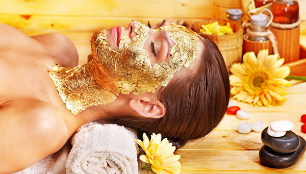 Gold Facial in Saheli Salon at Denver, Colorado